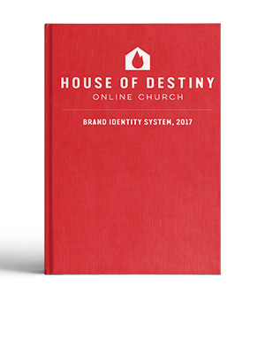 Image of a Brand Identity System Book for House of Destiny